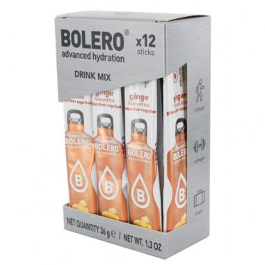 Pack 12 Sticks Bebidas Bolero sabor Jengibre 36 g