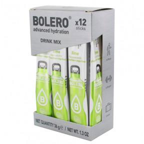 Pack 12 Sticks Bebidas Bolero sabor Lima 36 g