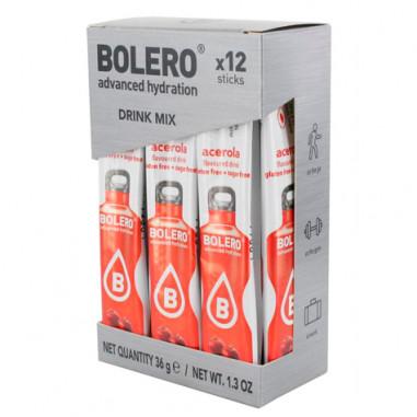 Pack 12 Sticks Bebidas Bolero sabor Acerola 36 g