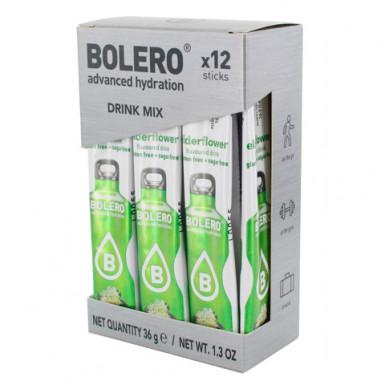 Pack 12 Bolero Drinks Sticks Elderflower 36 g