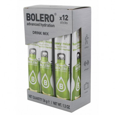 Pack 12 Sachets Bolero Drink goût Melon 36 g