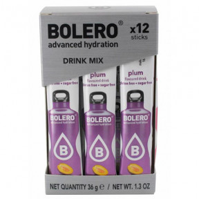 Pack 12 Sachets Bolero Drink goût Prune 36 g