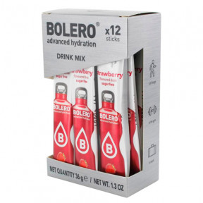Pack 12 Bolero Drinks Sticks Strawberry 36 g