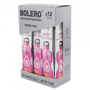 Pack de 12 Bolero Drinks Sticks Goiaba 36 g