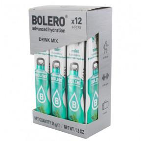Pack 12 Sticks Bebidas Bolero sabor Menta 36 g