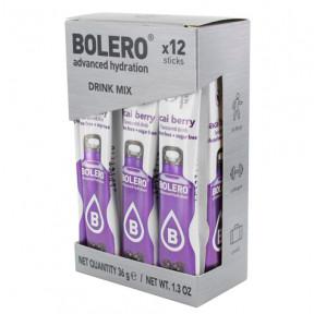 Pack 12 Bolero Drinks Sticks Acai Berries 36 g