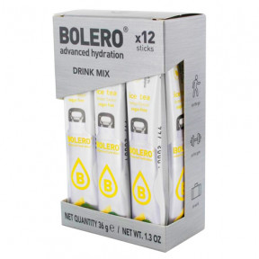 Pack 12 Bolero Drinks Sticks Ice Tea Lemon 36 g