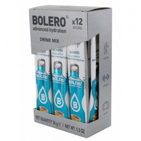 Pack 12 Sachets Bolero Drink goût Exotic 36 g