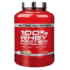 100% Whey Professional Scitec Nutrition Chocolate Laranja 2350 g