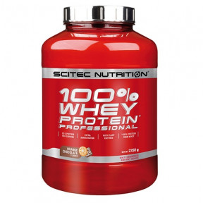 100% Whey Professional Scitec Nutrition Chocolate Laranja 2350 g
