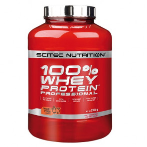 100% Whey Professional Scitec Nutrition Yaourt Peche 2350 g