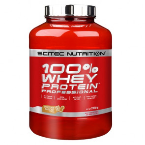 100% Whey Professional Scitec Nutrition Chocolate con Avellanas 2350 g