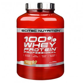 100% Whey Professional Scitec Nutrition Chocolate Hazelnut 2350 g
