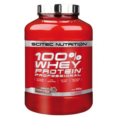 100% Whey Professional Scitec Nutrition Chocolate Cookies and Cream 2350 g