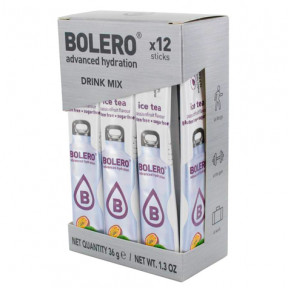 Pack de 12 Bolero Drinks Sticks Chá Gelado Fruto da Paixão 36 g
