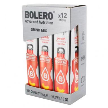 Pack de 12 Bolero Drinks Sticks Pêssego 3 g