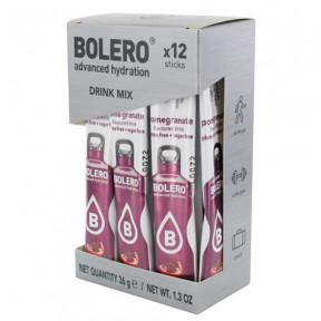 Pack 12 Bolero Drinks Sticks Pomegranate 36 g