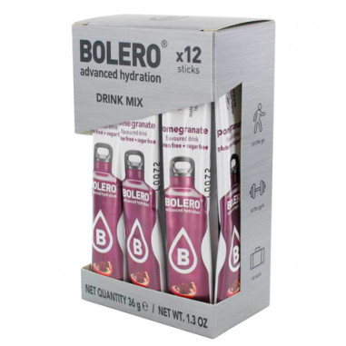 Bolero Drinks Sticks Pomegranate 3 g 12 Pack