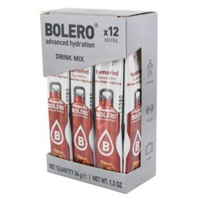 Pack 12 Bolero Drinks Sticks Tamarind 36 g