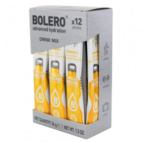 Pack 12 Bolero Drinks Sticks Banana 36 g