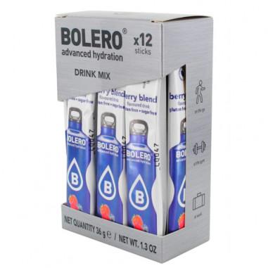 Pack 12 Sticks Bebidas Bolero sabor Bayas 3 g