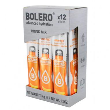 Pack 12 Bolero Drinks Sticks Mango 3 g