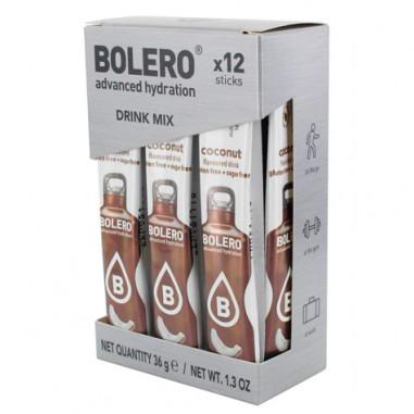Pack 12 Sticks Bebidas Bolero sabor Coco 3 g