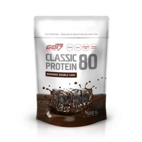 Classic Protein 80 Brownie Double Chocolate Flavour Got7 500 g