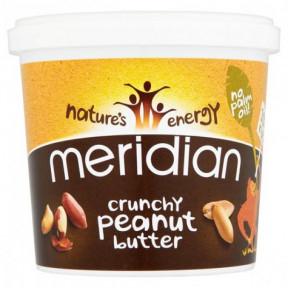 Manteiga de Amendoim Crocante Meridian 1 kg