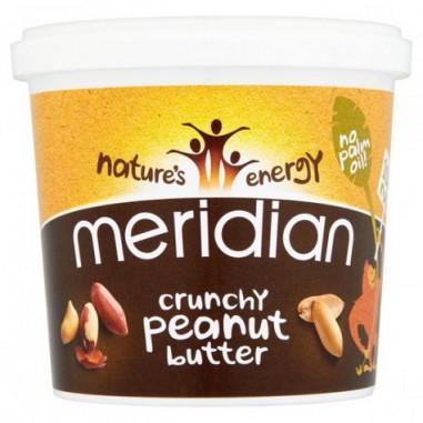 Mantequilla de Cacahuete Crujiente Meridian 1 kg