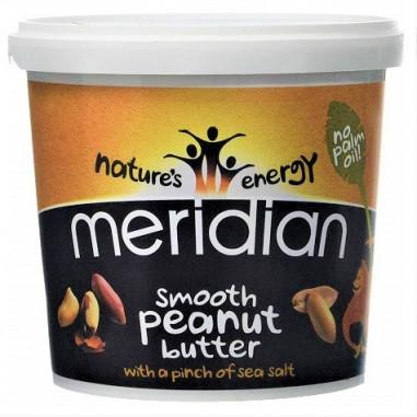 Mantequilla de Cacahuete Salada Suave Meridian 1 kg