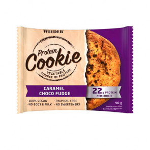 Weider Protein Cookie Caramelo y Chocolate 90 g
