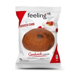FeelingOk Cocoa Sandwich Start Bun 1 unit 50 g