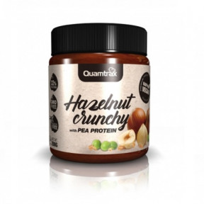 Quamtrax Vegan Crunchy Hazelnut Cream with Pea Protein 250 g