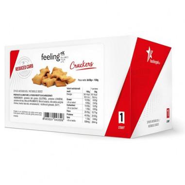 Regañás FeelingOk Crackers 1 Start Natural (3 uds) 150 g