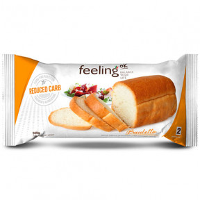 Bread Bauletto Optimize Natural 300g