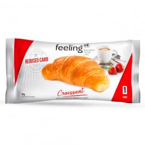 Croissant FeelingOk Start sabor Natural 1 unidade 50 g