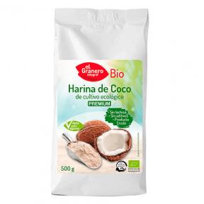 Farine de Coco Bio El Granero Integral 500 g