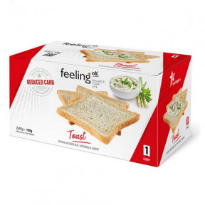 Torradas de Sabor Natural Start FeelingOk 160g