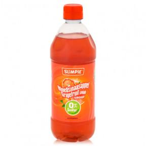 Slimpie 0% Sugar Drink Concentrate Red Orange flavor 580 ml