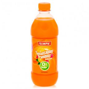 Concentré de Boisson 0% de Sucre goût Orange et Famboise de Slimpie 580 ml