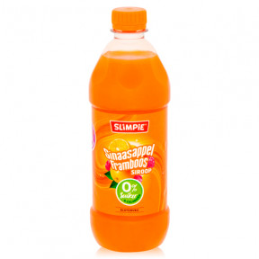 Slimpie 0% Sugar Drink Concentrate Orange and Raspberry flavor 580 ml
