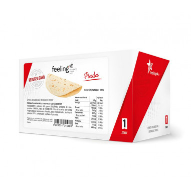 Tortilla FeelingOk Piada Start 400g (4x100g)