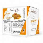 Mini Galletas FeelingOK Quadrelli Optimize Naranja 150 g