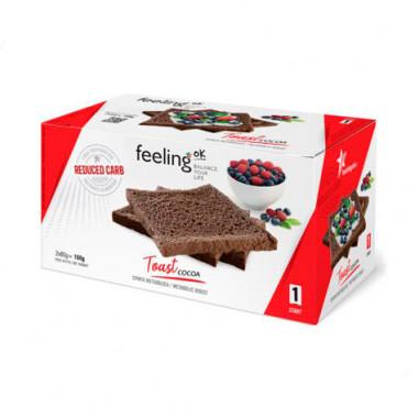 FeelingOk Plain Start Crispy Cocoa Bread 160 g
