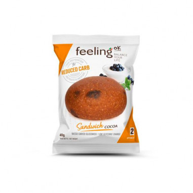 FeelingOk Sandwich Optimize Cacao 1 unité 40 g