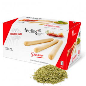 Piquitos FeelingOk Grissino Start Orégano 150 g (3x50g)