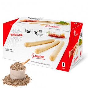 Piquitos FeelingOk Grissino Start Sésamo 150 g (3x50g)