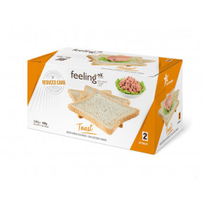 Tostadas FeelingOk Optimize Natural 160 g