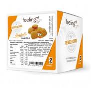 Mini Galletas FeelingOK Quadrelli Optimize Almendras 150 g